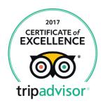 Certificat of excellence 2017 - la terrasse des climats
