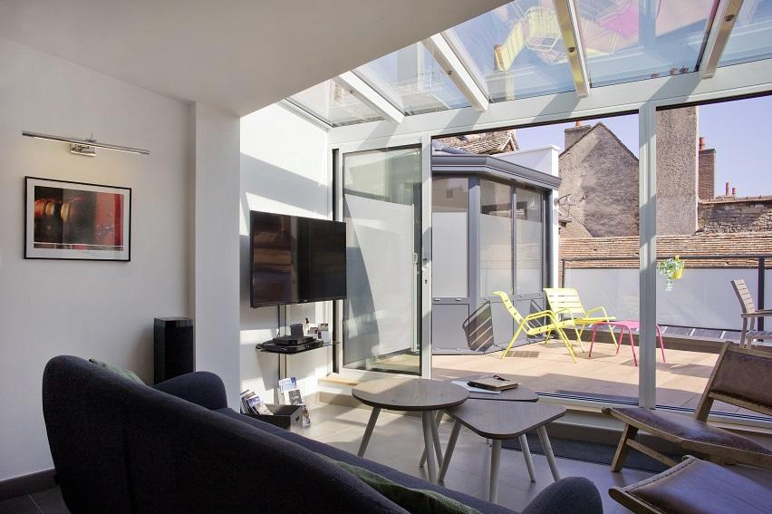 La Terrasse des Climats - La Véranda - Salon